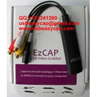 Mac Ezcap USB Easycap Video Capture Card Really for Mac Vista Win7 XP Windows China Factory 2861 solutions DC60+ + Manufactures