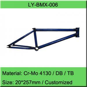 China Chromoly BMX Bike Frame / Freestyle Bicycle Frame Manufacturer on sale