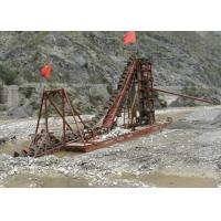 China Diesel Engine Gold Dredging Equipment Main Central Pontoon Economical Operation on sale