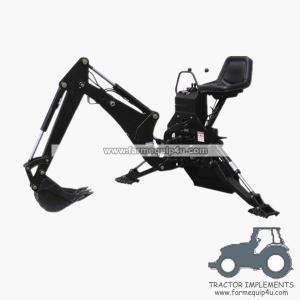 BH7600 - Backhoe loader for tractors 25-45hp