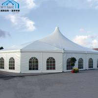 Quality Mixed Custom Party Tents Waterproof PVC Roof for Trade Show Events for sale