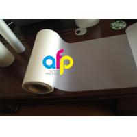 Thermal Matt Lamination Roll , Printing Media Laminate Mylar Film Roll Manufactures