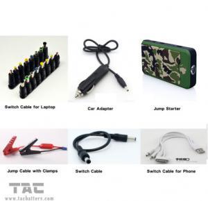 China High peak car jump starter  / Pocket 12 volt jump starter High capacity lithium ion battery on sale