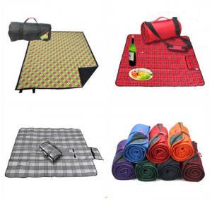 China Polyester Portable Waterproof Picnic Mat / Camping Mat / Yoga Mat / Beach Mat on sale