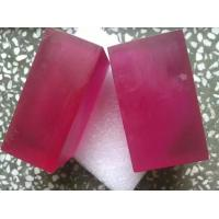 High Gain Raw Synthetic Ruby Excellent Thermal Conductivity For Laser Machine Manufactures