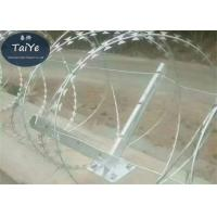 6 Holes Barbed Wire Fence Post 50-60cm Height High Rust Resistance Manufactures