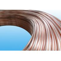 0.55mm Low Carbon Copper Coated Bundy Tube For Freezer , Bundy Tubing Company Manufactures