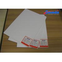 Flat Solvent Printing PVC Foam Board Sheets for Signage / Store Displays / POP Manufactures