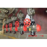 China Stainless Steel Butterfly Valvefor Industrial Chemical / Power / Light Textile on sale