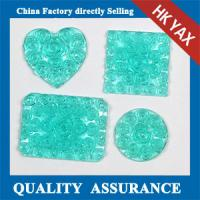 resin stone,resin square rose flower stone for accessory,free sample for square resin stone Manufactures