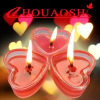 Quality Heart-shaped red Candle for sale