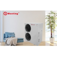China Meeting commercial air source heat pump water heater R32/R410A refrigerant water heating system China manufacturer on sale