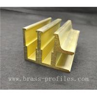 China Copper Alloy Extruding Profiles Copper Materials for Decoration on sale
