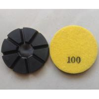 8 Pie Dry Hybrid Concrete Polishing Pads Manufactures