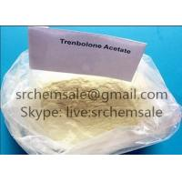 Quality Healthy Yellow Trenbolone Acetate Powder For Bodybuiling CAS 303-42-4 for sale