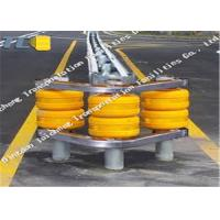 China High Strength Rolling Guardrail Barrier Orange Yellow Red Green RBD245 on sale