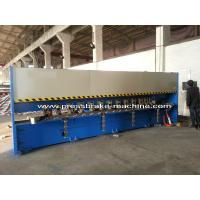 Manual Roll V Grooving Machine Sheet Metal Shear H4C Control System Manufactures