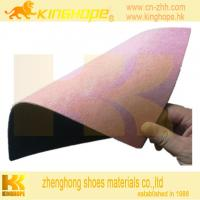 China material to make shoes fiber sheet with EVA on sale