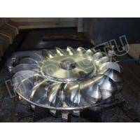 China High Quality Stainless Steel Forged CNC Machining Pelton Turbine Runner with Hydro turbine on sale