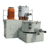 China Stainless Steel Blade Twin Screw Mixer , 7.5 - 30kw Power Plastic Granules Mixer on sale