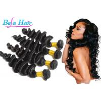 "Quality No Processed Black People Virgin Peruvian Hair  8"" -36"" Length Thick for sale"