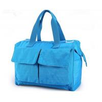 Blue Recycle Pretty designer Baby Diaper Bags , Baby Nappy Changing Bag Manufactures