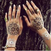 China Temporary Inspired Flash Henna Tattoo Sticker on sale