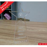 Transparent Crystal Acrylic Awards And Plaques PMMA Perspex Plexiglass Manufactures