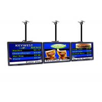 Indoor Commercial LCD Display Restaurant Digital Menu Boards Advertising Player Manufactures