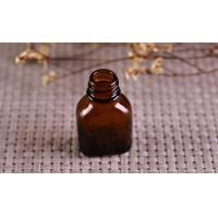 Color Coating Amber Glass Cosmetics Essential Oil Bottle With Dropper Manufactures