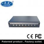 Black 4 Channel Video Quad Processor , Digital VGA Quad Video Multiplexer Manufactures