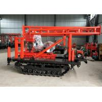 Professional Water Well Drilling Rig 380V 200m Depth With S1105 18HP Diesle Engine Manufactures