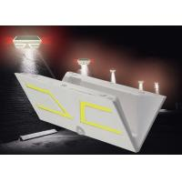 Plastic Solar Motion Wall Light High Bright COB Colorful Leds For Security Manufactures