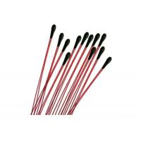 30KOhm Bead Type Thermistor , Miniature Thermistor With Bendable Enamelled Wire Manufactures