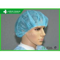 China Medical PP Non Woven Hospital Disposable Surgical Caps, Mob Caps on sale