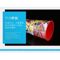 Promotion Drinking Printed Plastic Cups , Bpa Free 750ML Custom Plastic Tumblers Manufactures