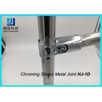 ESD Creform Pipe Workbench Chrome Pipe Fittings Chrome Plated Metal Joint Anti Static Manufactures
