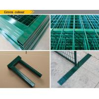 """Quality 6'X9.6' temporary construction fence frame 1.6""""/40mm brace1.2""""/30mm and 16ga for sale"""