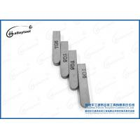 F2 Tungsten Carbide Cutting Tools High Hardness P30 Cemented Carbide Brazing Tips Manufactures