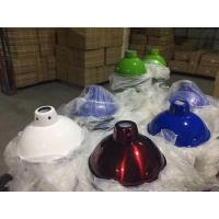Fashion Style Sheet Metal Spinning Manufacturing Process For Different Color Lamp Cover Manufactures