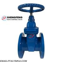 PN16 PN10 WEDGE NON-RISING SPINDLE RESILIENT SEATED CAST IRON GATE VALVE Manufactures