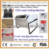 MJGHY-14090LD CO2 Laser Cutting Leather Shoes Materials Manufactures