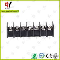 8.0kg Torque Barrier Terminal Block HQ25CB-7.62 2P - 24P Pole 7.62mm Spacing Manufactures