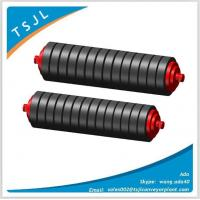 Material handling transporting rubber roller with belt conveyor Manufactures