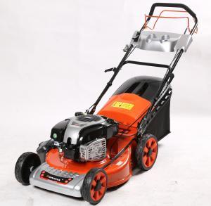 21'' gasoline lawn mower,3in1 self propelled high quality lawn maintenance, grass cutter, petrol lawnmower, disel