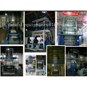 Manufacturer of PE Blow Film Machine, Taiwan Technology, Machine for HDPE, LDPE, LLDPE Film Manufactures