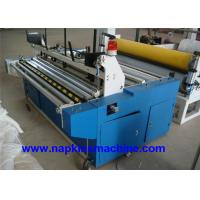 Laminated Small Toilet Paper Making Machine 1200mm With Plc Programming Control Manufactures