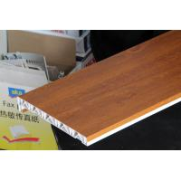 Waterproof laminated window board / plastic window sills covers 100mm*350mm Manufactures