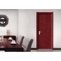SS304 Hinge Decorative Flush Door , Casing Architrave Complete Set Flush Interior Door Manufactures