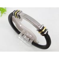 Customized Rubber Silicon Bangle Bracelets 1750009 Manufactures